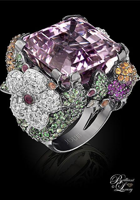 Brilliant Luxury ♦ Joubi London 'Flora Fauna' Ring
