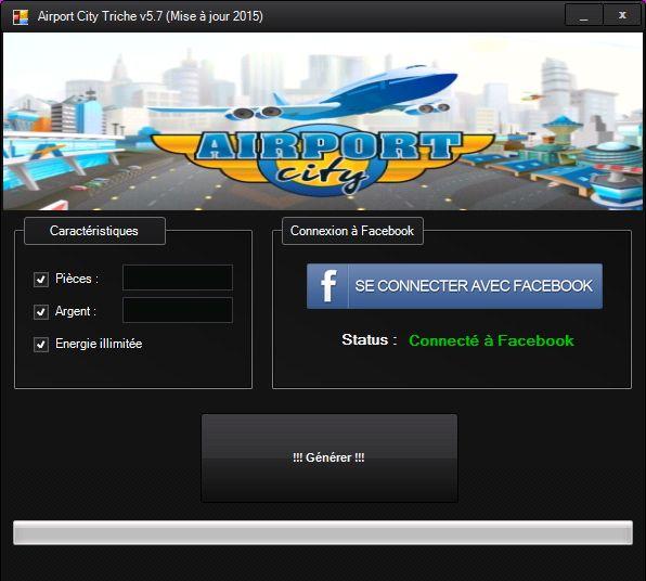 Airport City Cheat Code Astuces Francais 2015  http://trichesgratuit.fr/airport-city-cheat-et-astuces-pour-facebook/