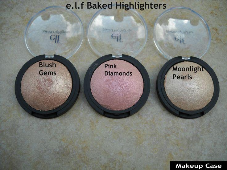 e.l.f Baked Highlighters http://makeupcase1.blogspot.com/2014/01/elf-baked-highlighters.html