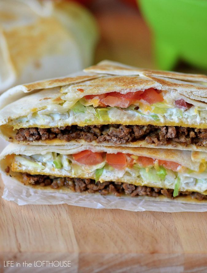 Anyone can tell you that Taco Bell's infamous Crunchwrap Supreme® is pretty AWESOME. It's everything you love wrapped up in one perfect meal. So get ready and expect your taste buds to have a real party with this super-easy and very satisfying recipe that's ready in no time!