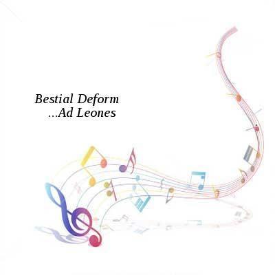 Bestial Deform-Ad Leones-CD-2016-DiTCH