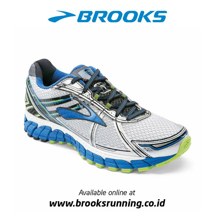 Brooks Men's Adrenaline GTS 15 is equal parts support, cushion and balance  in a stylish