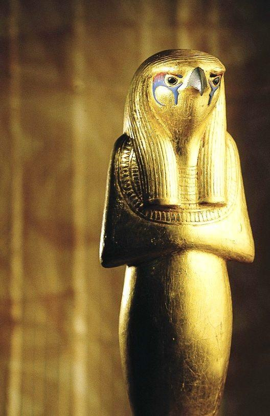 Horus, from King Tut's treasure...