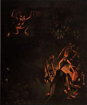 Calonarang by Walter Spies