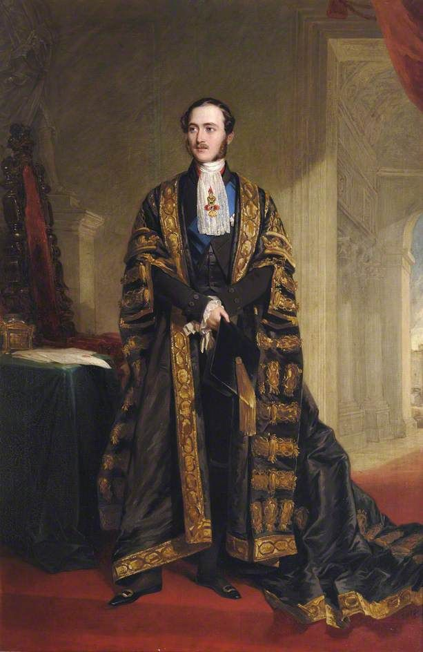 Portrait of Prince Albert (1819–1861), Consort to Queen Victoria, c. 1849 by Frederick Richard Say (British 1805-60)
