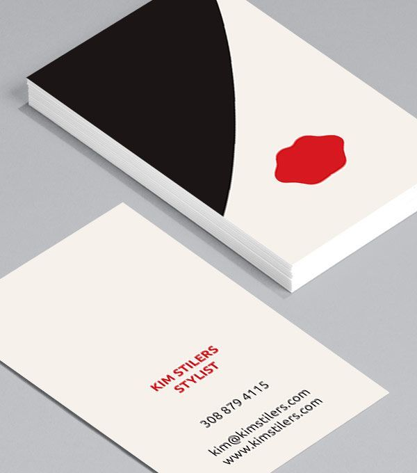 Business Card Design Vorlage Kostenloser Download Mit