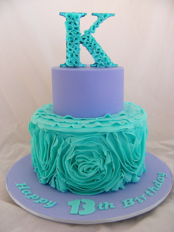 19 best ruffle cakes images on Pinterest Ruffle cake Birthdays