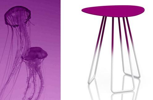 Medusa tea table by Sam Sannia