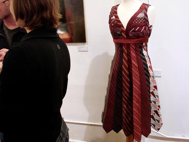 I made a skirt out of ties once, i have no idea where it went.  i may have to try this next :)