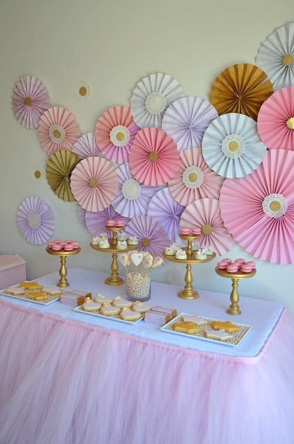 Play with different colors. No tutu skirt, less princess-y. Note the little candy balls on the cookie trays; cute detail.
