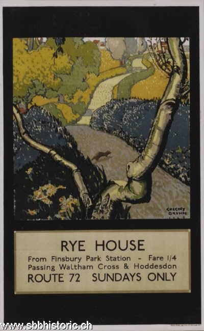 Rye House - Rye House from Finsbury Park Station -