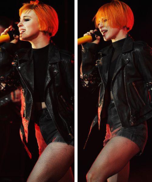 Hayleeeeey :) Short orange bob