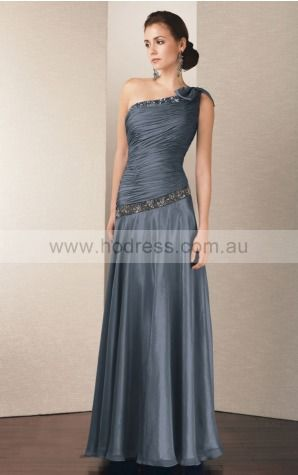None Floor-length Dropped A-line Chiffon Formal Dresses aiga307035--Hodress