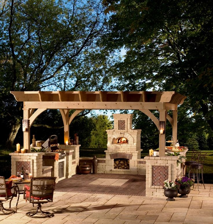 12 Best Backyard Designs: Outdoor Kitchens Images On