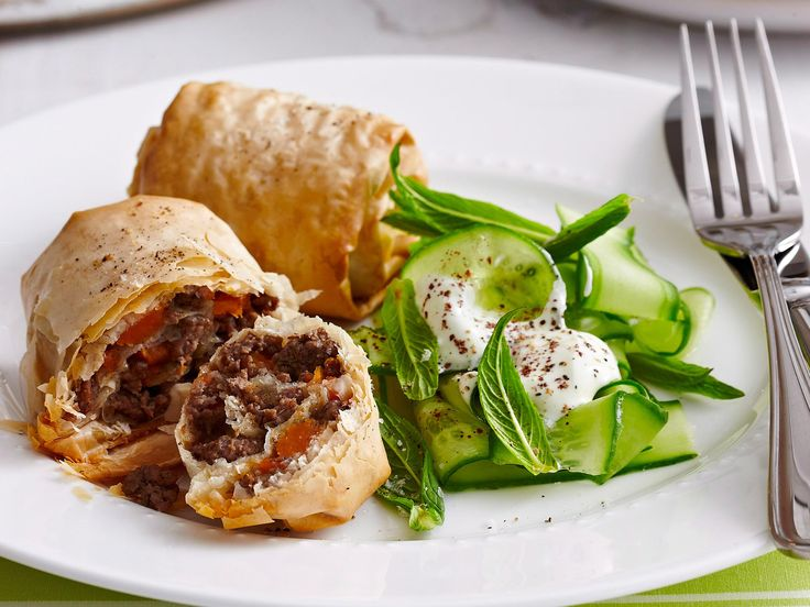All the satisfaction of a classic mince pie, with the tart addition of tomato, all encased in a crispy filo shell.