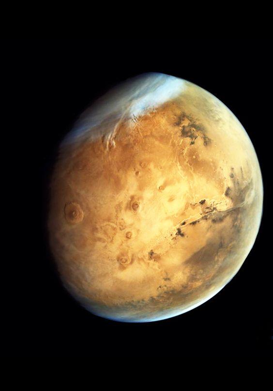 Mars | India's Mars Orbiter Mission (MOM) | Credit: ISRO