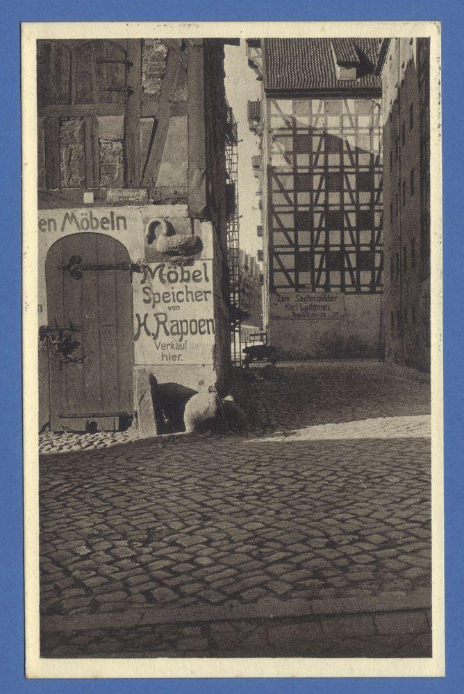 Königsberg Pr. Speicher Speichermarke SCHWAN Möbel  21.5.1928