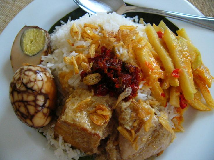 Indonesian food: Nasi Liwet