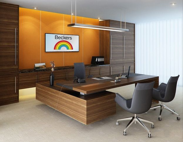 Interior design casual director room office office design cabinet pinterest casual - Interior design of office room ...