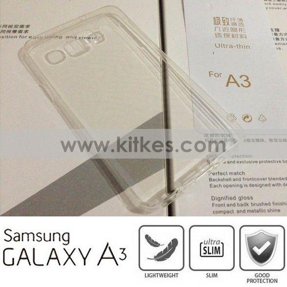TPU Slim Case 0.3mm Samsung Galaxy A3 - Rp 65.000 - kitkes.com