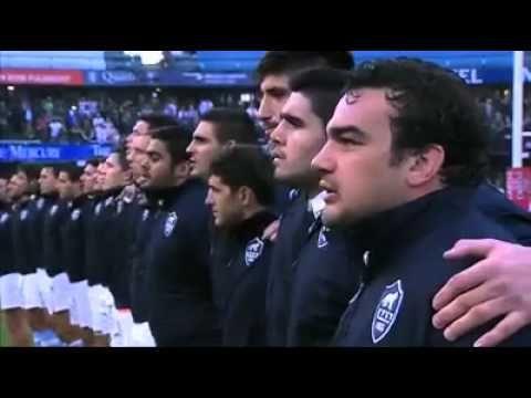 Himno Argentino Pumas 1965 con Pumas 2015