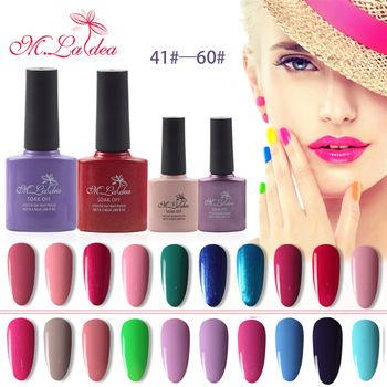 M.Ladea 8.3ML UV Gel Nail Varnish Lacquer Led Nail Gel Polish Long Lasting UV Gel Nail Polish 140 Color For Choose  Price: 1.20 USD
