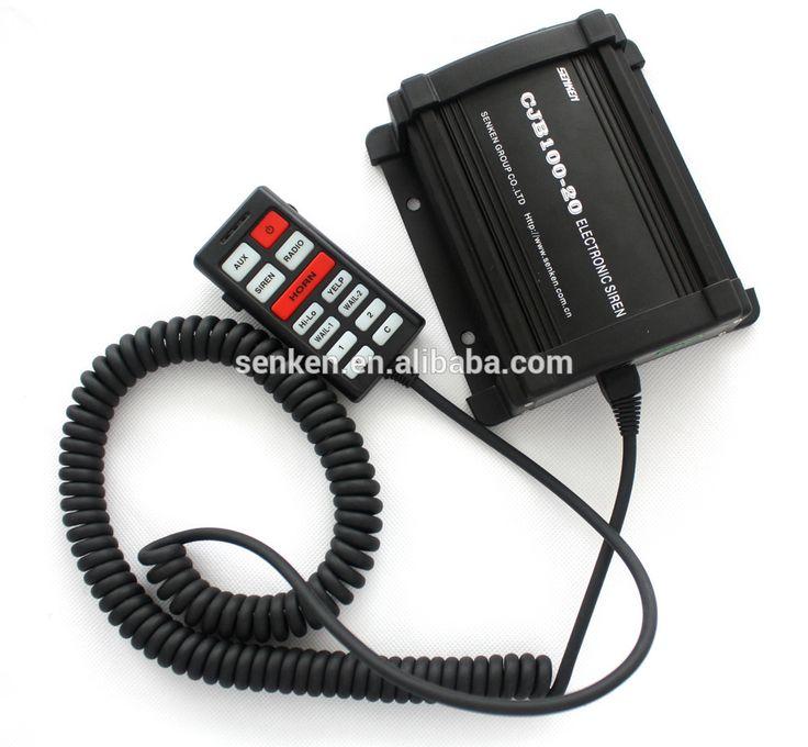 Senken 12V warning siren police for emergency vehicle electronic siren
