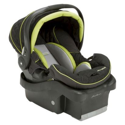 Eddie Bauer Surefit Infant Car Seatblack Lime Green Or Magenta I Would Like To Have This For Our Second Child