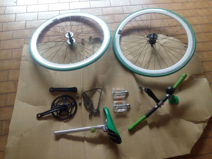 Kit conversione bicicletta contropedale