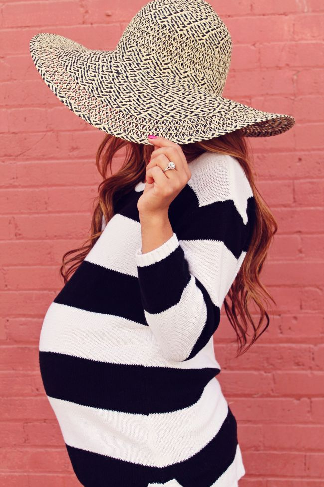Take On The Trend: Mixed Prints » MotherhoodCloset.com #maternity #fashion