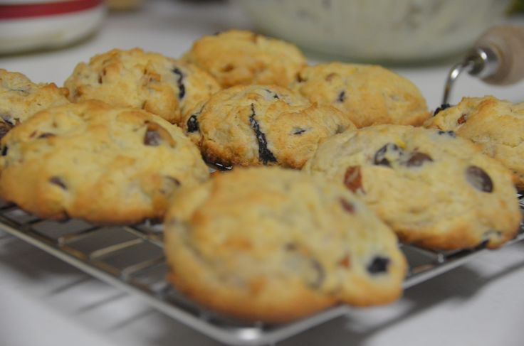 How to Make Almond Blueberry Cookies | Recipe