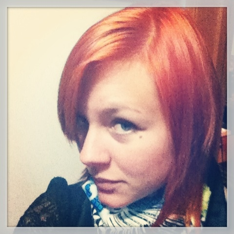My new look! Orange hair