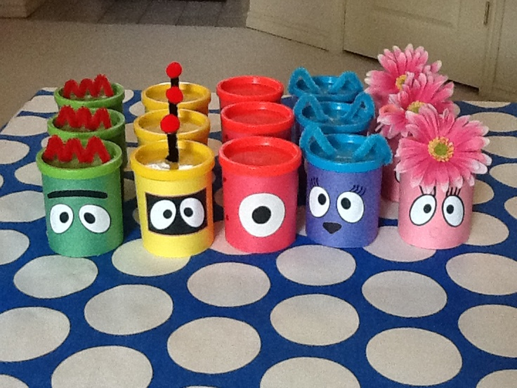 best 25+ yo gabba gabba ideas on pinterest | ceiling streamers, Birthday invitations