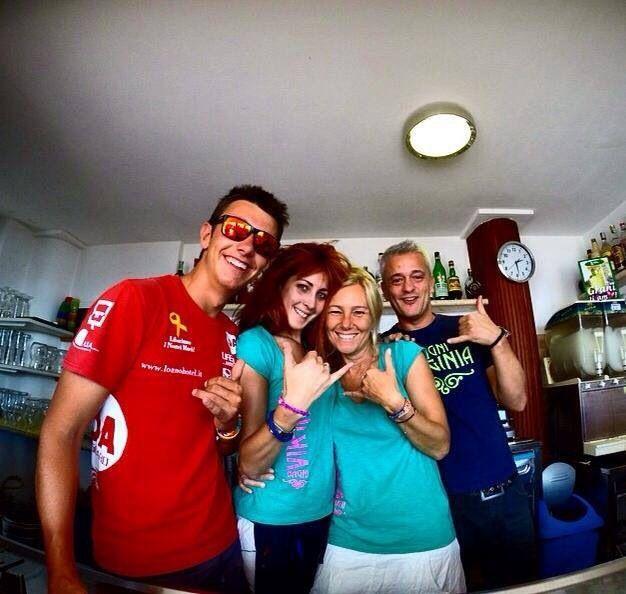 Staff! #bagnivirginia #liguria #italy #summer14