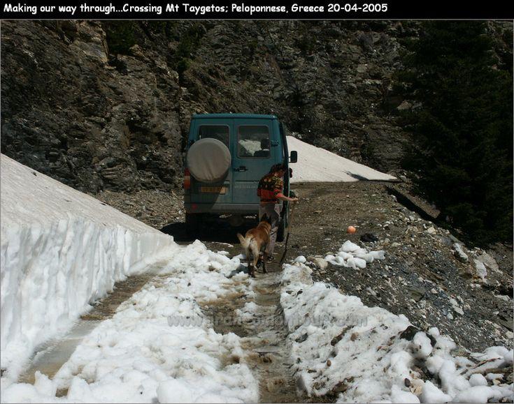 Saidona to Kastania track -making our way thtough.... crossing Mt. Taygetos - Peloponnese - Greece