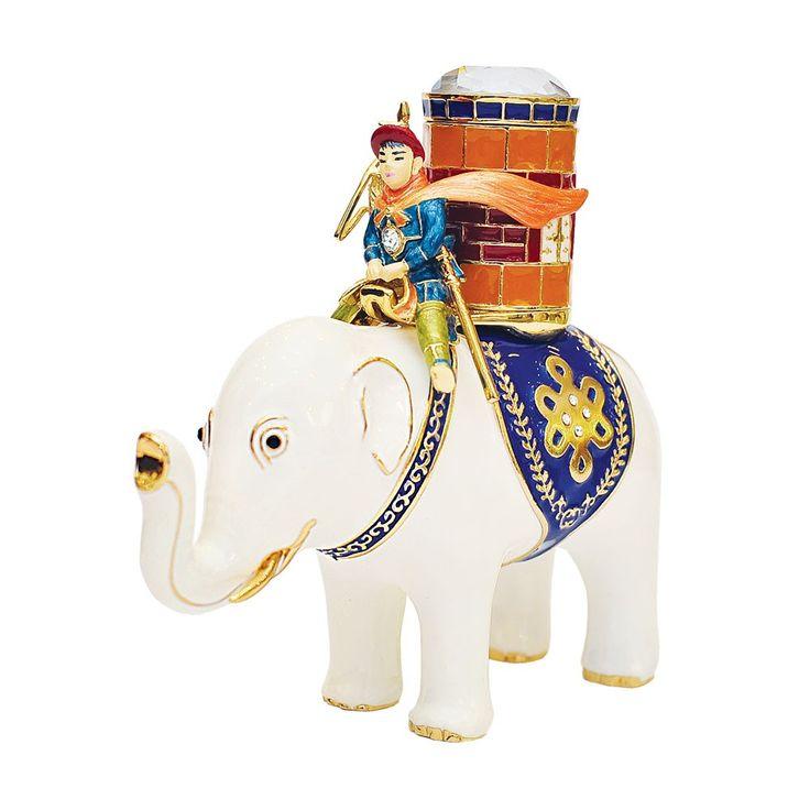 Elefantul Victoriei cu butoias in spate -Remediu Feng Shui pentru cariera si prosperitate