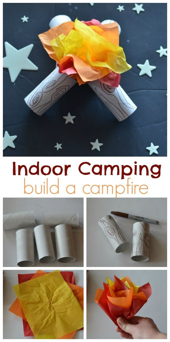 Indoor Camping Party - | The Shopping MamaThe Shopping Mama