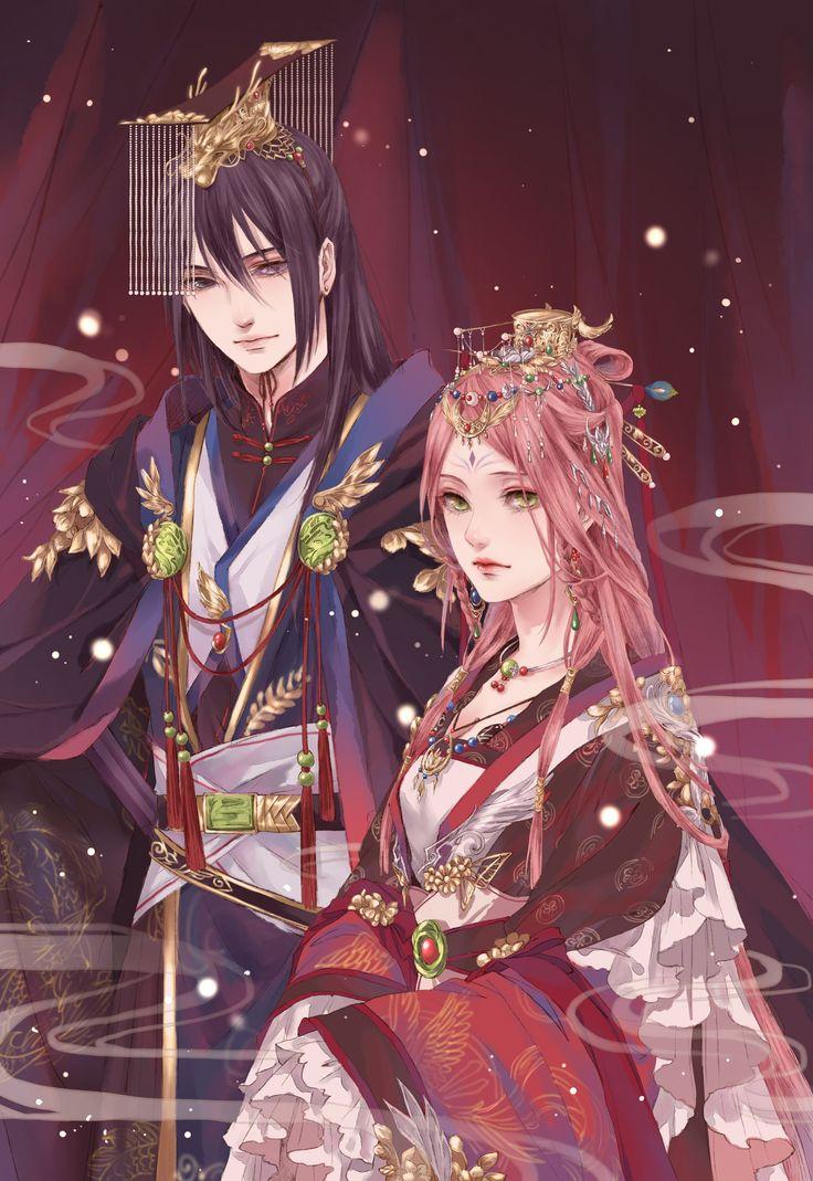 Pinning for Sakura... Apparently genderbent Sasuke