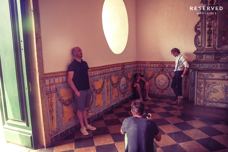 backstage SS14 Wouter Peelen http://www.reserved.com/pl/pl/campaign/street-fashion-man#he