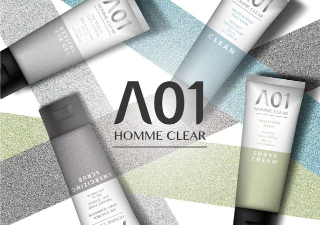 A01 Homme Skincare on Packaging of the World - Creative Package Design Gallery