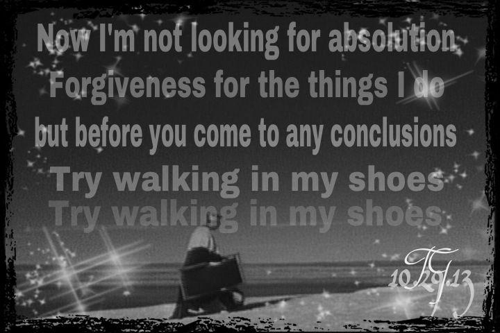 Try Walking In My Shoes Depeche Lyrics