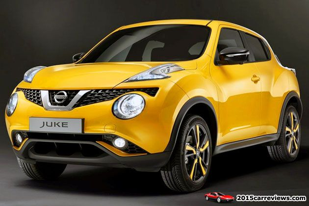2015 Nissan Juke SUV front view