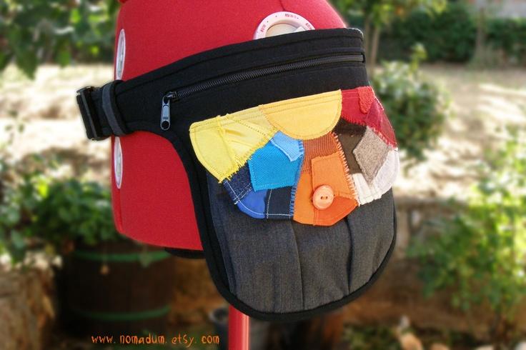 COLORFUL belt bag • Custom made.