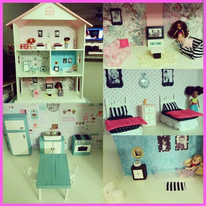 Target Dollhouse Bookshelf Converted Into An Inexpensive