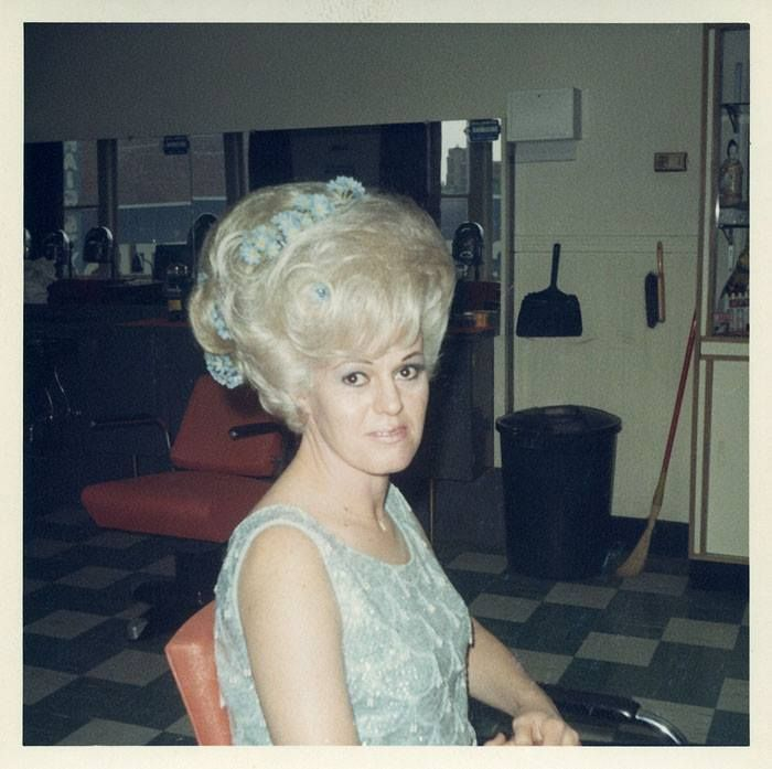 1960s Big Hair Porn - vintage everyday: Inside a Women's Hair Salon from the