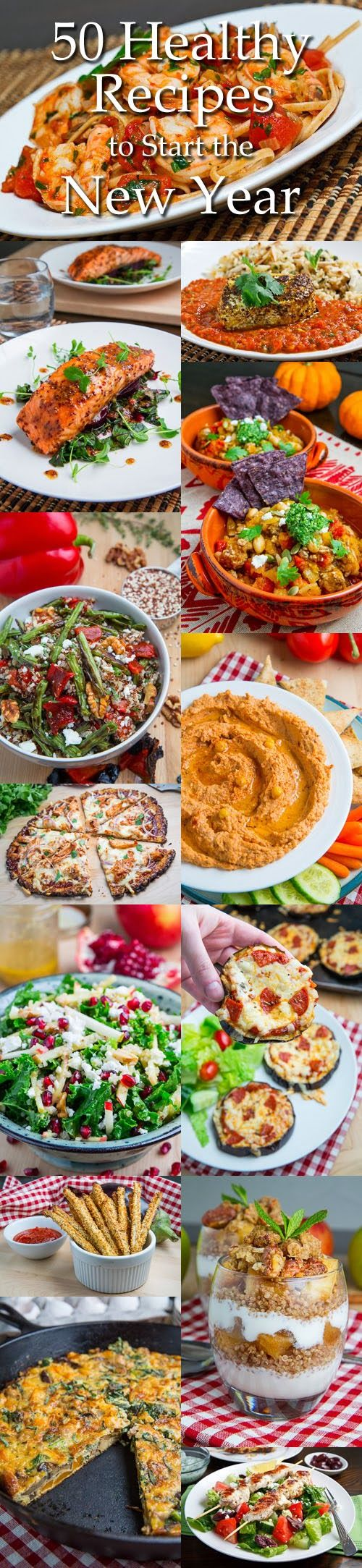 50 Healthy Recipes to Start the New Year