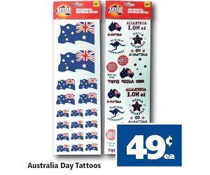 Australia Day Tattoos