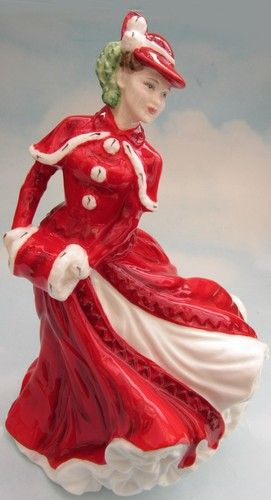 ROYAL DOULTON PORCELAIN FIGURINE LADIES LADY HN4552 CHRISTMAS DAY 2003 | eBay