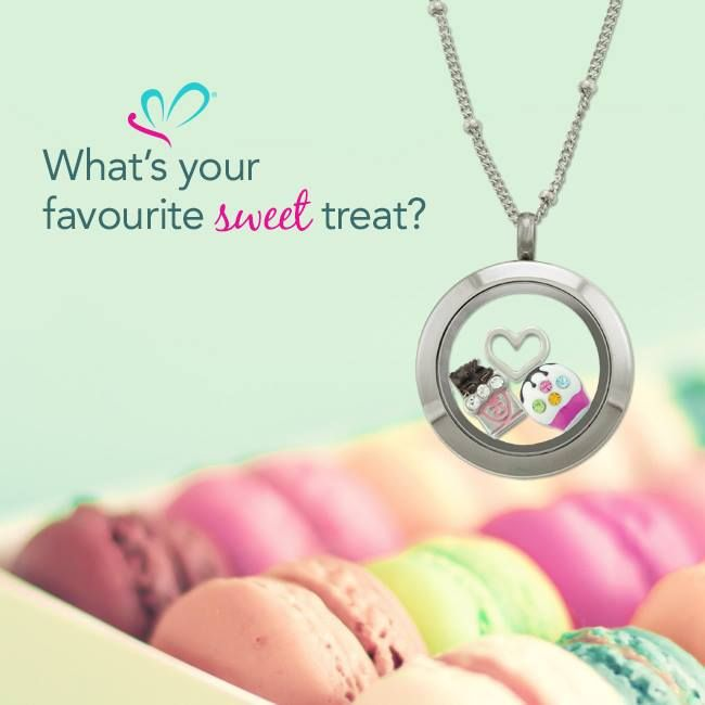 Tell us what's your favourite sweet treat? We are loving macaroons! www.lilyannedesigns.com.au #LilyAnneDesigns #PersonalisedLockets