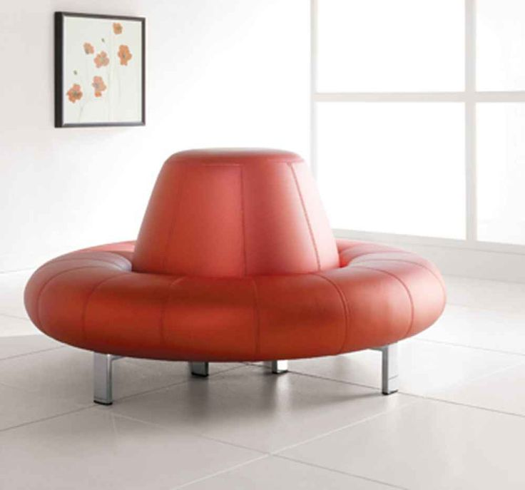 couch for girls room | Contemporary Circular Lounge Room Sofas in Pink